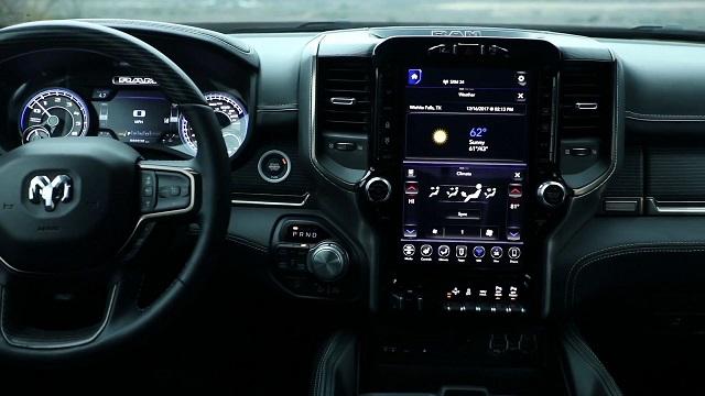 2019 Ram 2500 interior
