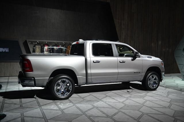 2019 Ram 2500 rear