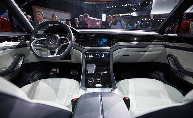 2020 VW Atlas Cross Sport interior