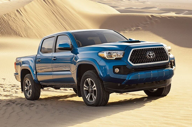 2019 toyota tacoma diesel changes