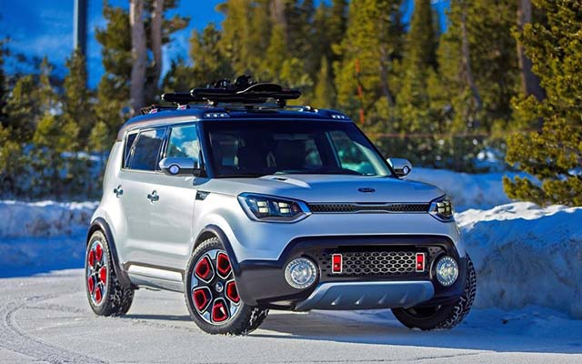 2019 Kia Trailster changes