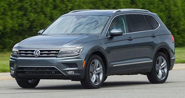 2020 VW Tiguan changes