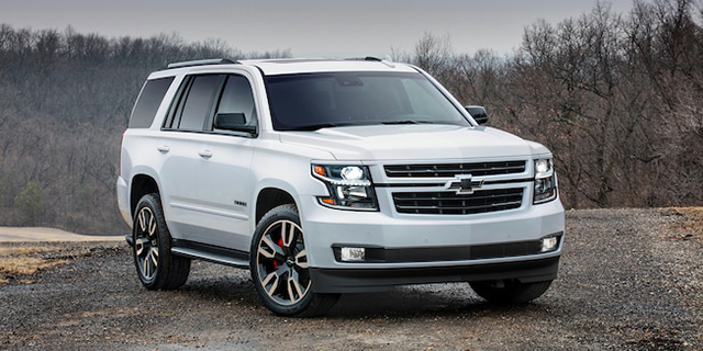 2020 Chevy Tahoe Colors