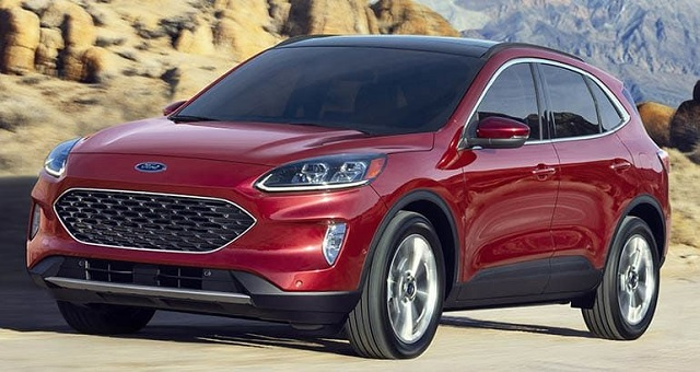 2020 Ford Escape redesign