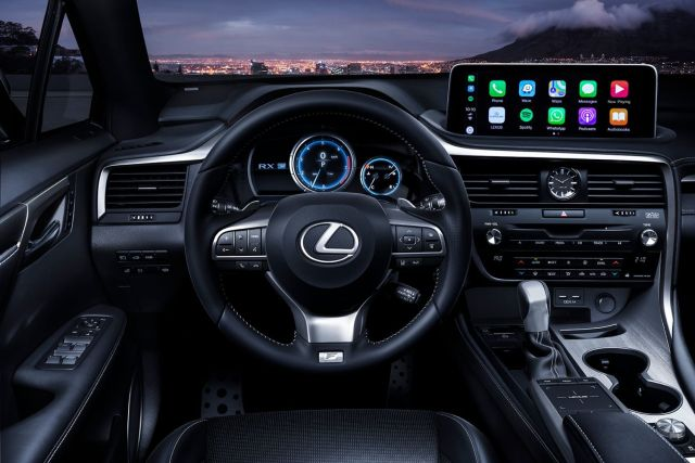 2020 Lexus RX 350 Interior