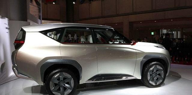 2020 Mitsubishi Montero redesign