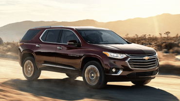 2021 Chevy Traverse Facelift