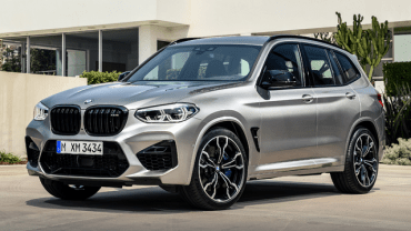 2021 BMW X3 facelift