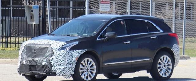 2021 Cadillac XT5 Spy Photo
