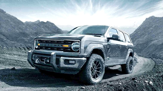 2021 Ford Bronco Towing Capacity