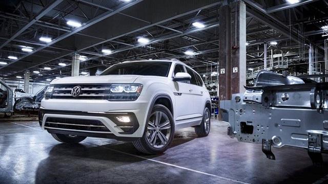 2020 Volkswagen Atlas Changes