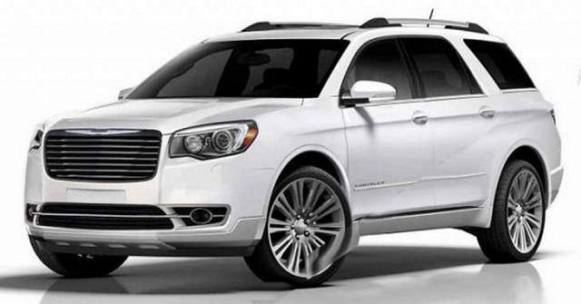 2021 Chrysler Aspen front