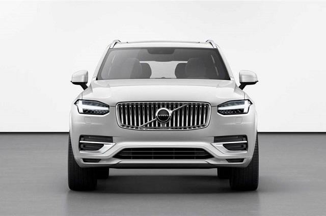 2021 Volvo XC90 grille