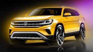 2021 VW Atlas Rendering