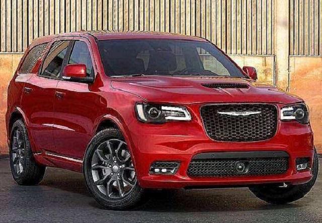 2021 Chrysler Commander Rendering
