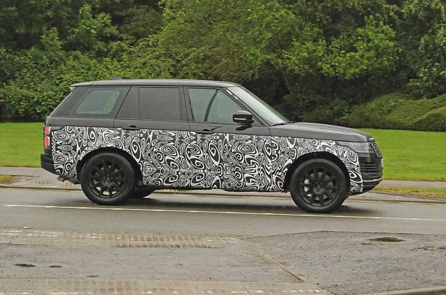 2021 Range Rover Spy Photo