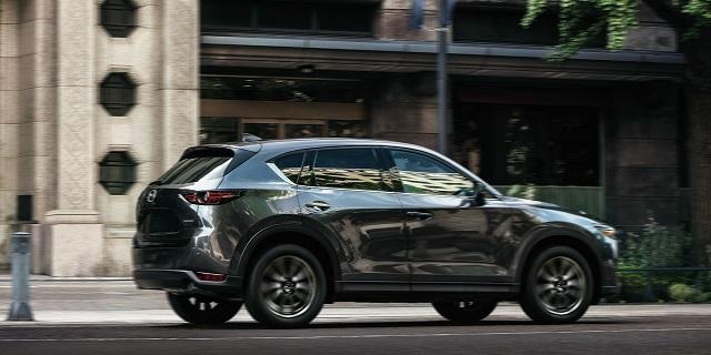 2021 Mazda CX-5 rear