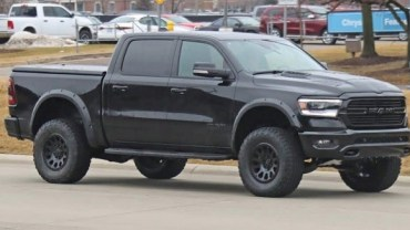 2021 Ram Rebel TR Spy Shot