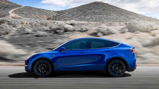 2021 Tesla Model Y Dimensions