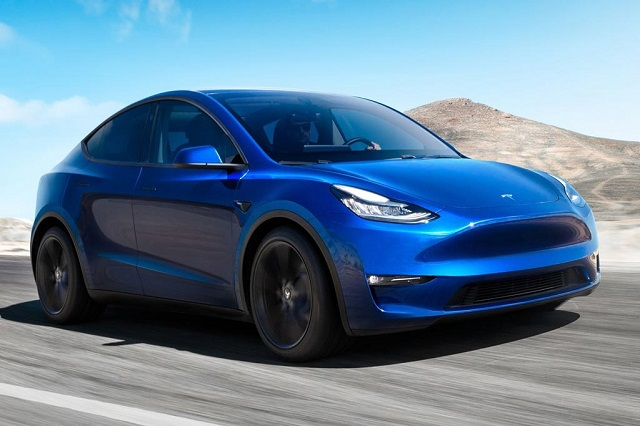 2021 Tesla Model Y battery capacity