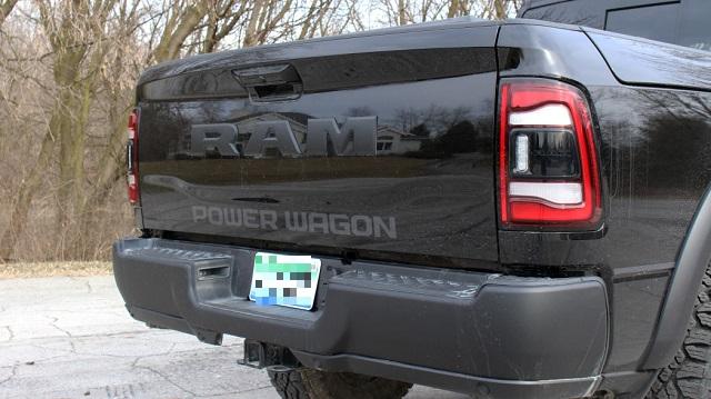 2021 Ram 2500 Power Wagon bed