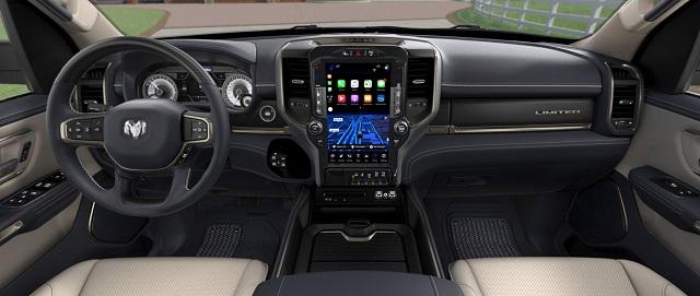 2021 RAM Ramcharger interior