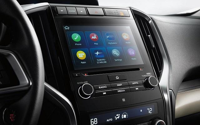 2022 Subaru Ascent interior