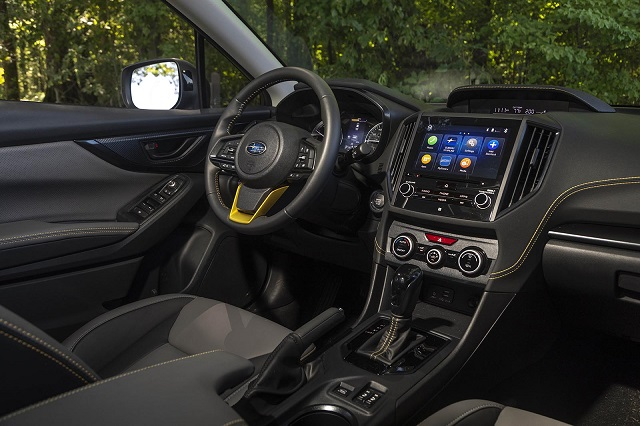 2022 Subaru Crosstrek limited interior