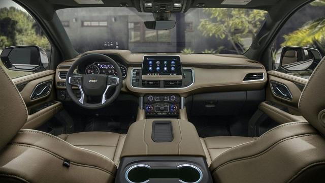 2022 Chevy Suburban Interior
