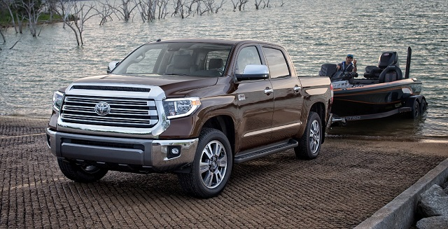 2020 Toyota Tundra Diesel towing capacity
