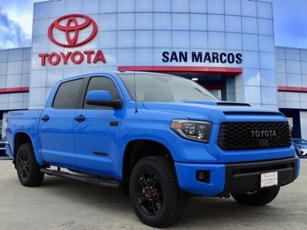 2020 Toyota Tundra TRD Pro Voodoo Blue