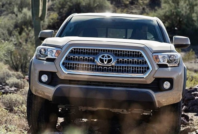 2020 Toyota Tacoma towing capacity