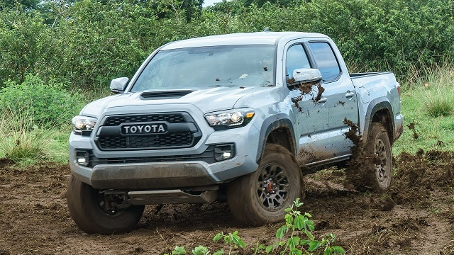 2020 Toyota Tacoma changes off-road