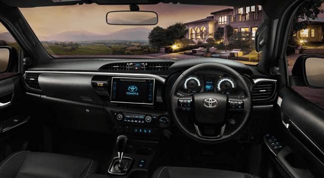 2020 Toyota Hilux Diesel interior