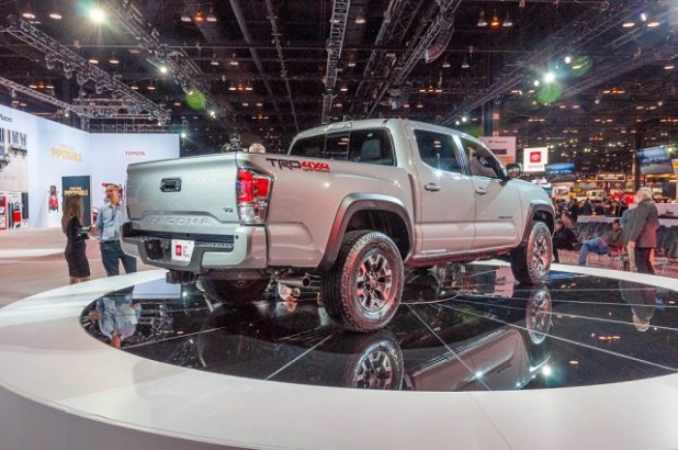 2020 Toyota Tacoma Diesel Canada rear view
