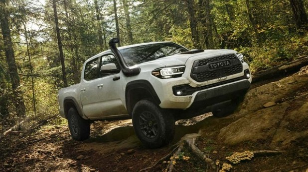 2020 Toyota Tacoma TRD Pro Front