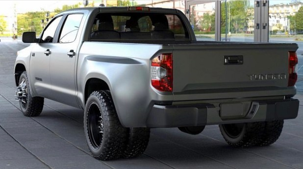 Toyota Tundra Dually Concept rear