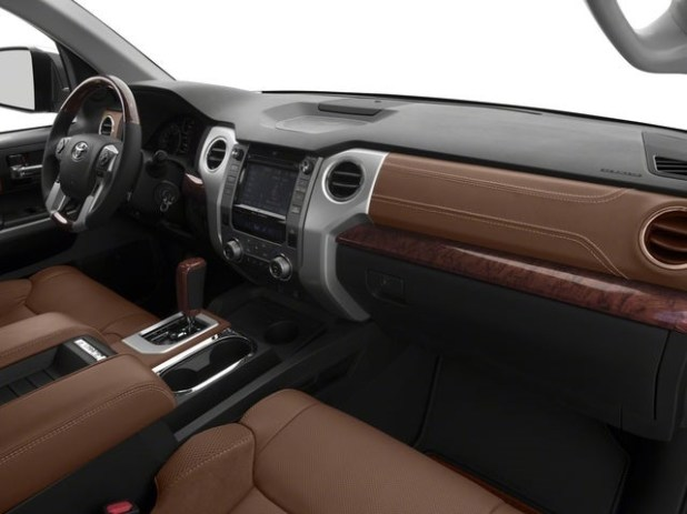 2021 Toyota Tundra colors - Brown Leather