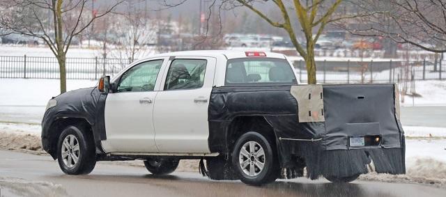 2022 Toyota Tundra Redesign Spy Shot