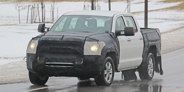 2022 Toyota Tundra Spy Shot