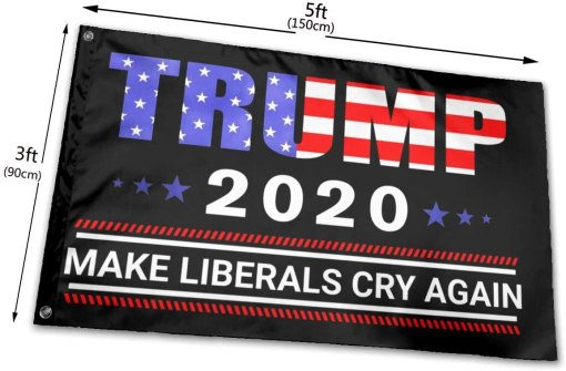 Lumugun Trump-2020 3x5 Foot Flags Outdoor Flags 100% Single-Layer Translucent Polyester 3x5 Ft Decoration Flag,Indoor and Outdoor Flags,Celebration
