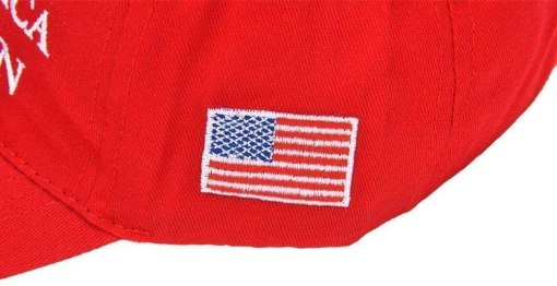 Warmshine Trump Flag & 2020 Donald Trump Keep America Great Again Hat, Double Sided Printed,3 x 5 Ft