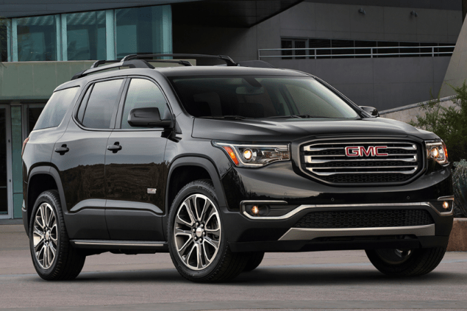 2019 GMC Acadia Release Date