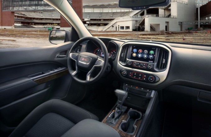 GMC Canyon 2020 Interior