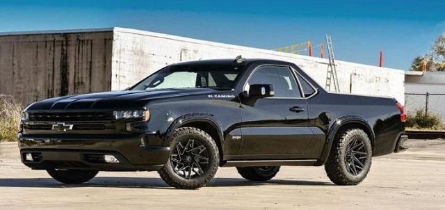 2021 Chevy El Camino Concept render