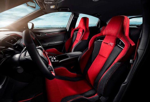 2021 Honda Ridgeline Type R interior illustration