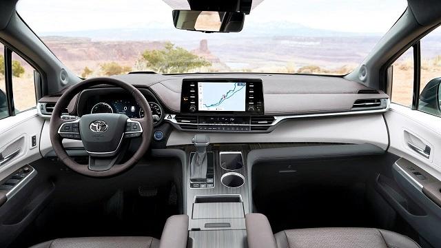 2022 Toyota Sienna Interior