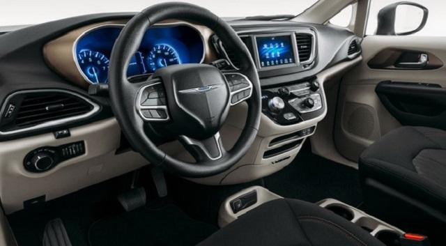 2022 Chrysler Voyager Interior