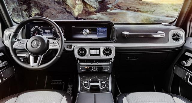 2022 Mercedes-Benz G-Class Interior
