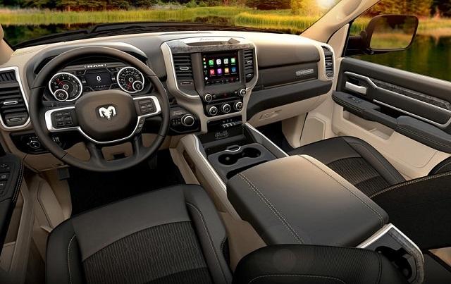 2022 RAM 3500 Interior